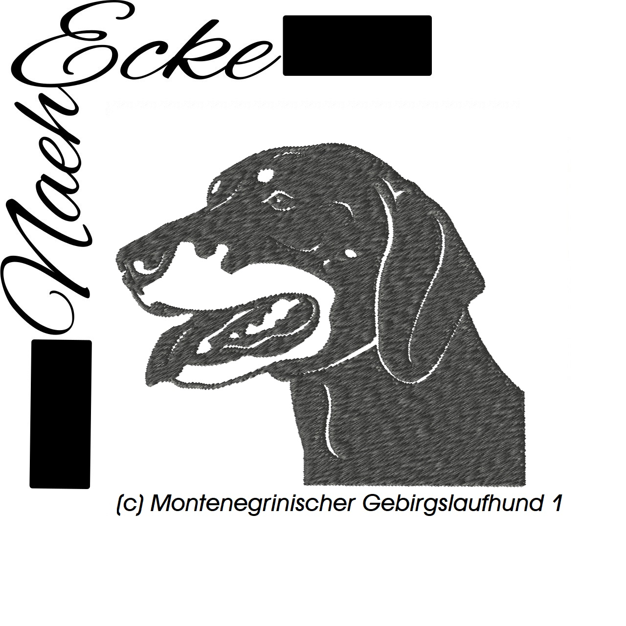 Montenegrinischer Gebirgslaufhund