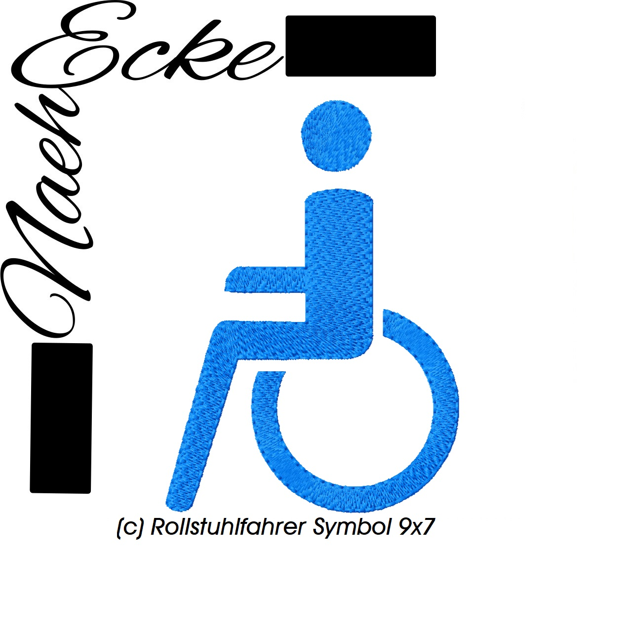 Symbol Rollstuhlfahrer