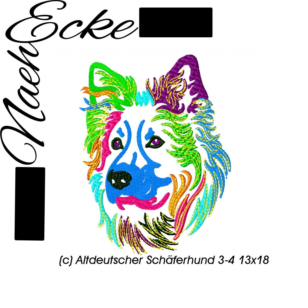 Altdeutscher Schäferhund 3-4