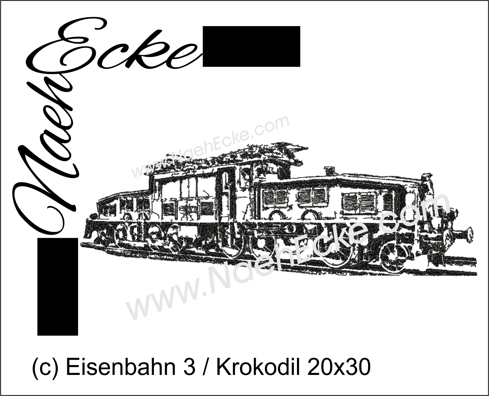 Eisenbahn 3 / Krokodil