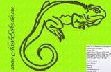 Stickdateien Reptilien / Arthropoda