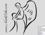 Stickdateien Engel