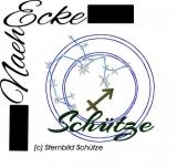 Stickdateien Sternzeichen Serie 3