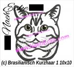 Stickdateien Katzen B