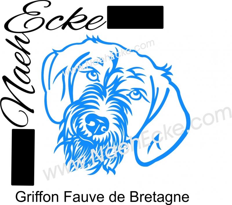 PLOTTERdatei Griffon Fauve de Bretagne SVG
