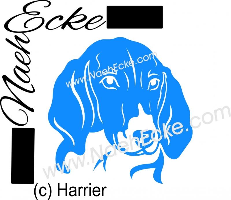 PLOTTERdatei Harrier / Hare-Hound (Hasenhund) SVG / EPS