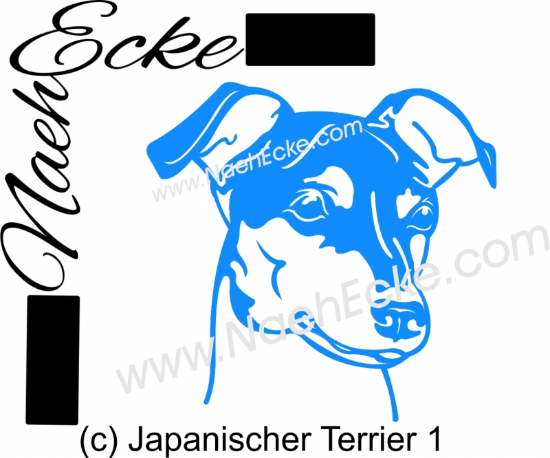 PLOTTERdatei Japanischer Terrier 1 SVG / EPS
