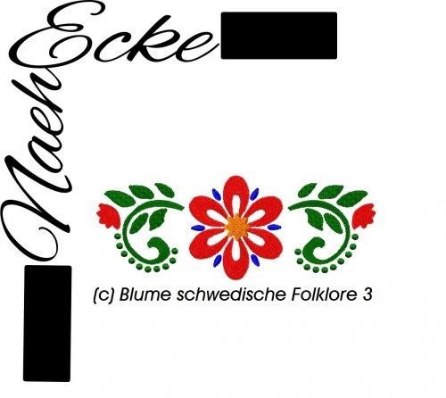 Stickdatei Schwedische Folklore 3 13x18