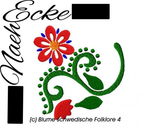 Stickdatei Schwedische Folklore 4 10x10