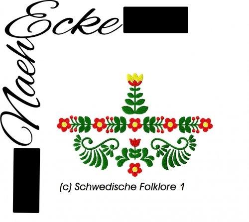 Stickdatei Schwedische Folklore 1 10x10