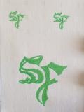Auftragsarbeiten Stickdateien Logo