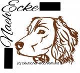Stickdatei Deutscher Wachtelhund Nr. 1 10x10
