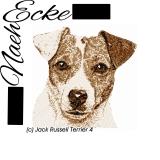 Stickdatei Jack Russell Terrier Nr. 4 10x10 PHOTOstitch
