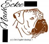 Stickdatei old English Bulldog Nr. 1 10x10