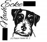 Stickdatei Parson Russell Terrier 2 10x10