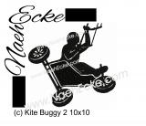 Stickdatei Buggy-surfing 10x10
