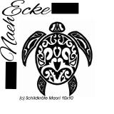 Stickdatei Maori Schildkröte 10x10
