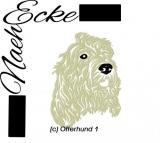 Stickdatei Otterhund 1 13x18