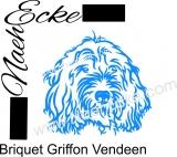 PLOTTERdatei Briquet Griffon Vendéen SVG / EPS