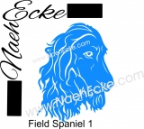 PLOTTERdatei Field Spaniel SVG / EPS