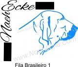 PLOTTERdatei Fila Brasileiro SVG / EPS