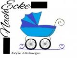 Stickdatei Baby 6 Kinderwagen 20x20