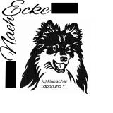 Stickdatei Finnischer Lapphund 1 13x18