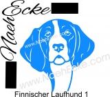 PLOTTERdatei Finnischer Laufhund 1 / Finnische Bracke SVG / EPS