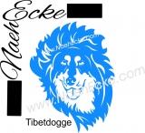 PLOTTERdatei Tibetdogge SVG / EPS