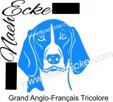 PLOTTERdatei Grand anglo-français tricolore SVG / EPS