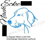 PLOTTERdatei Segugio Italiano a pelo forte SVG / EPS