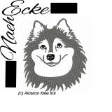 Stickdatei Alaskan Klee Kai 13x18