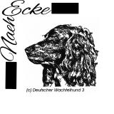 Stickdatei Deutscher Wachtelhund Nr. 3 13x18