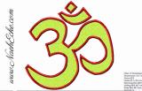 Stickdatei Yoga Om 3 13x18