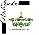Embroidery  Swedish folklore 1 5x7