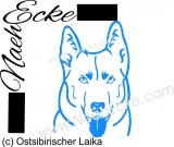 PLOTTERdatei Ostsibirischer Laika SVG / EPS
