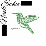 Stickdatei Kolibri 1 10x10