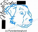 PLOTTERdatei Pyrenäenberghund SVG / EPS