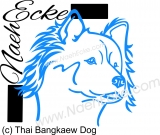 PLOTTERdatei Thai Bangkaew Dog SVG / EPS