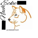 Stickdatei Hokkaido Hund 10x10