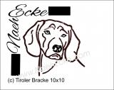 Stickdatei Tiroler Bracke 1 10x10
