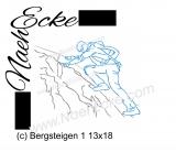 Stickdatei Bergsteigen 1 13x18