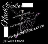 Embroidery Ballet 1 11.89 x 7.87