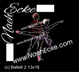 Embroidery Ballet 2 5x7