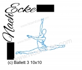 Stickdatei Ballett 3 10x10