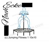Stickdatei Fitness Jumping 1 10x10