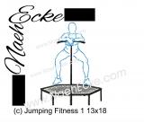 Stickdatei Fitness Jumping 1 13x18