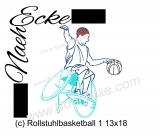 Stickdatei Rollstuhlbasketball 1 13x18