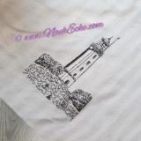 Stickdatei Leuchtturm Dornbusch / Hiddensee 20x20 / 20x30 Scrib-Art