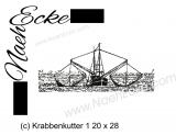 Stickdatei Krabbenkutter 1 20x28